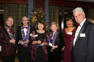 J.T. Mayer, Charles Mead, Joann Mead, Beverly Bach, Joyce Wood, Richard Grow