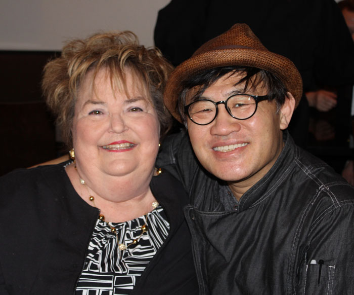 Carmen Parks, Chef/Owner Sung Jun Oh