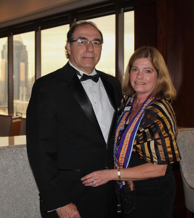 Hugo Tostado and Kathee Van Kirk