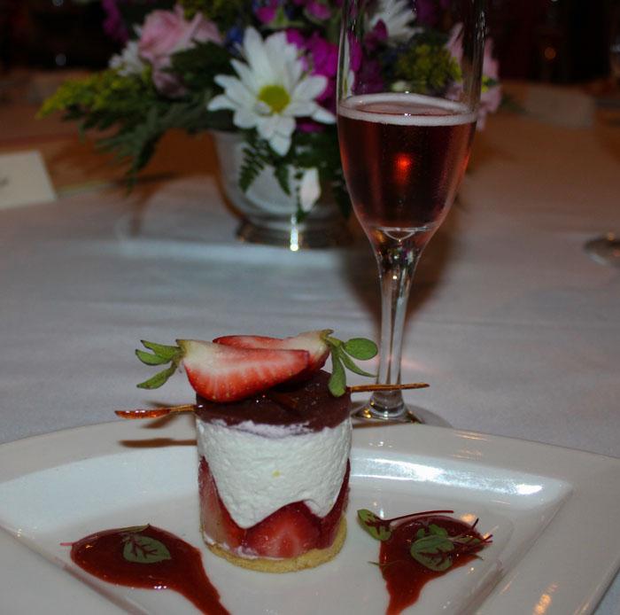 Ricotta-Mascarpone, Strawberries, Pate Sablee, Strawberry Balsamic Gelee
