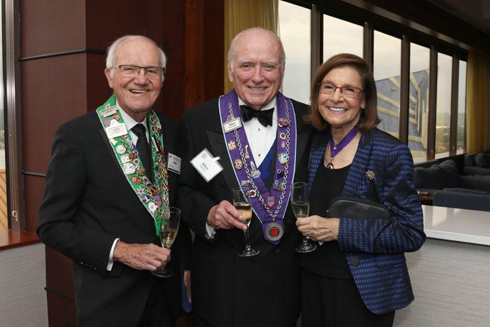 Irwin Weinberg, Alan Flaherty, Barbara Weinberg