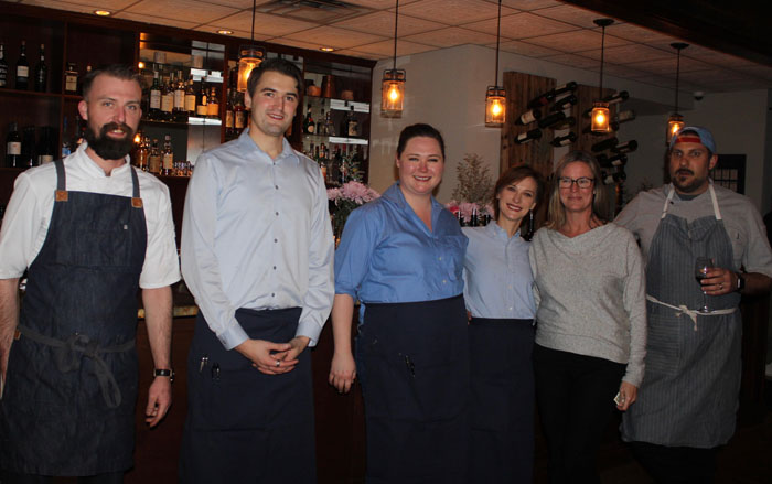 Postmark kitchen and wait staff