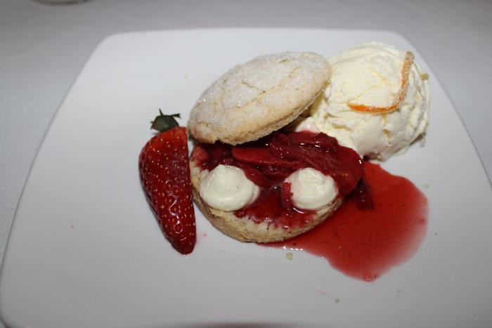 Cardamom Shortcake