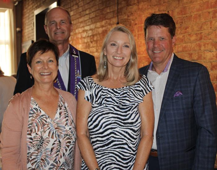Jeannette Jones, Gregg Jones, Sue Martz, and Chuck Martz