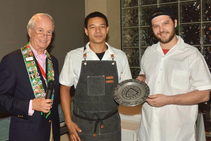 Chefs Barrett and Graham