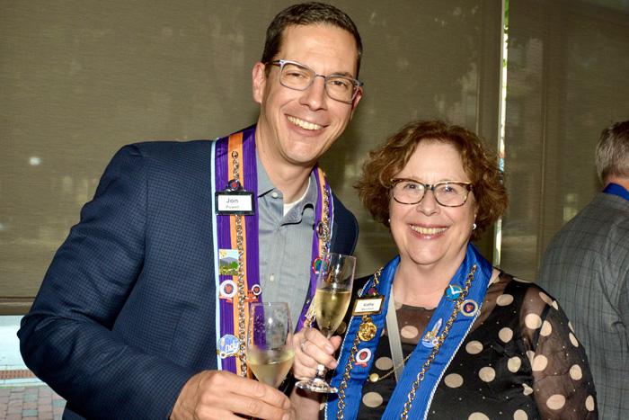 Jon Powell and Kathy Merchant
