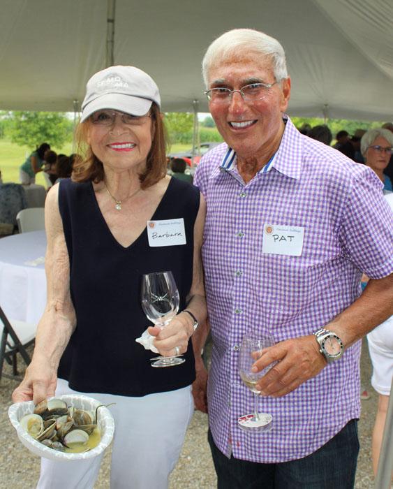 Barbara Weinberg and Chef Pat Gaito
