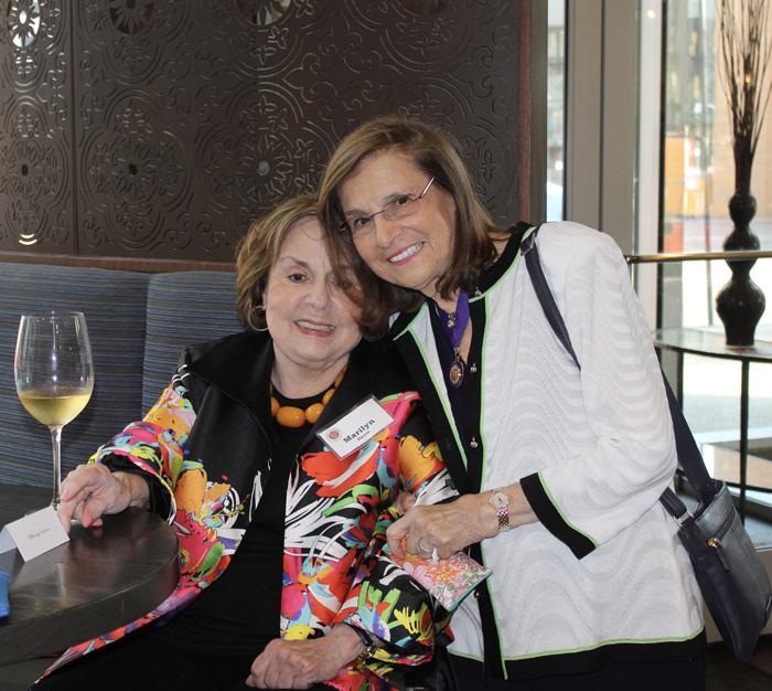 Marylin Harris and Barbara Weinberg
