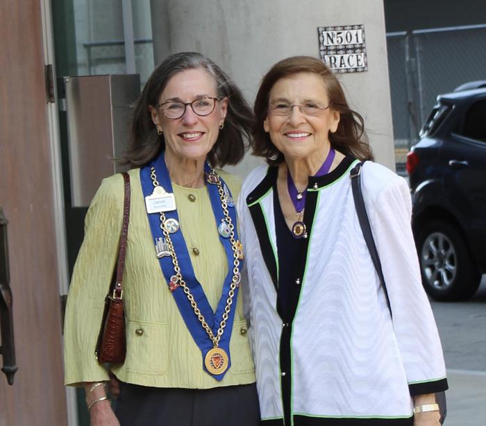 Janet Reynolds and Barbara Weinberg