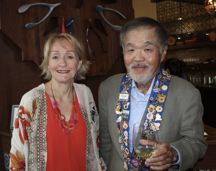Lindy Miller and Chuck Hong
