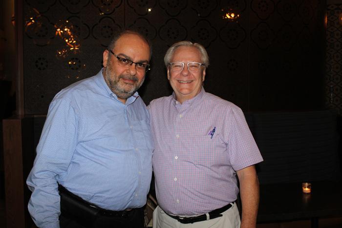 Wasimm Matar and Clint Haynes