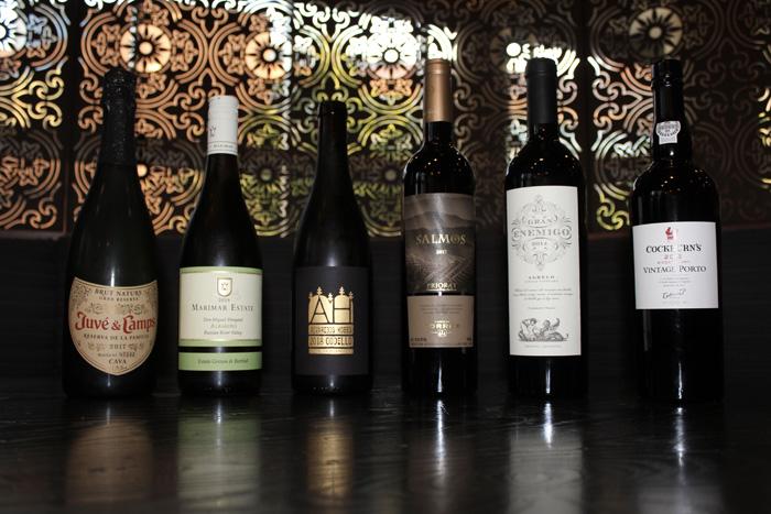 Wines served
