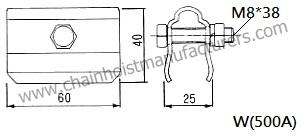 Bus Bar System Anchor Clamp, Bus Bar System Anchor Clamp