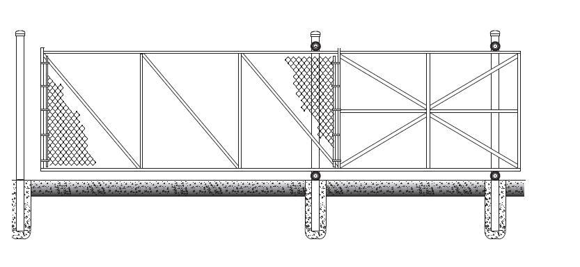 Cantilever Door Hardware & HOW TO INSTALL A BARN DOOR