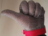 Chainmail Gloves as Butcher Gloves or Oyster Gloves