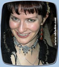 Blade chain mail choker, Chainmail gothic vampire jewelry ...
