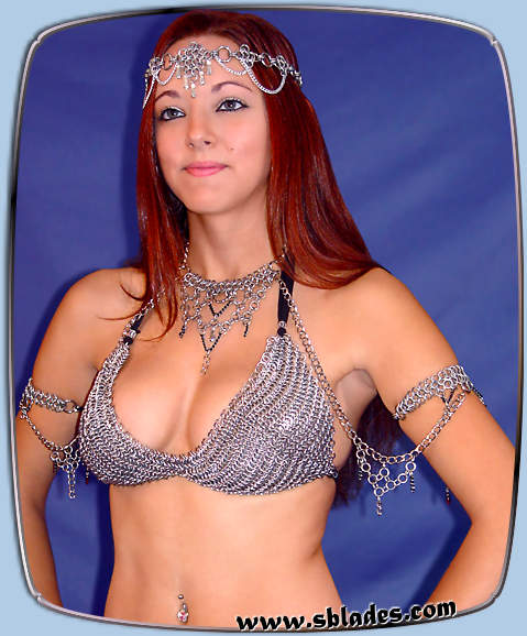 Chainmaille bikini top Comfortable chainmail renaissance