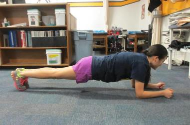 front-plank
