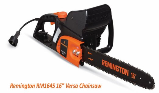 Remington RM1645 Versa Saw 12 Amp 16 Inch Electric Chainsaw