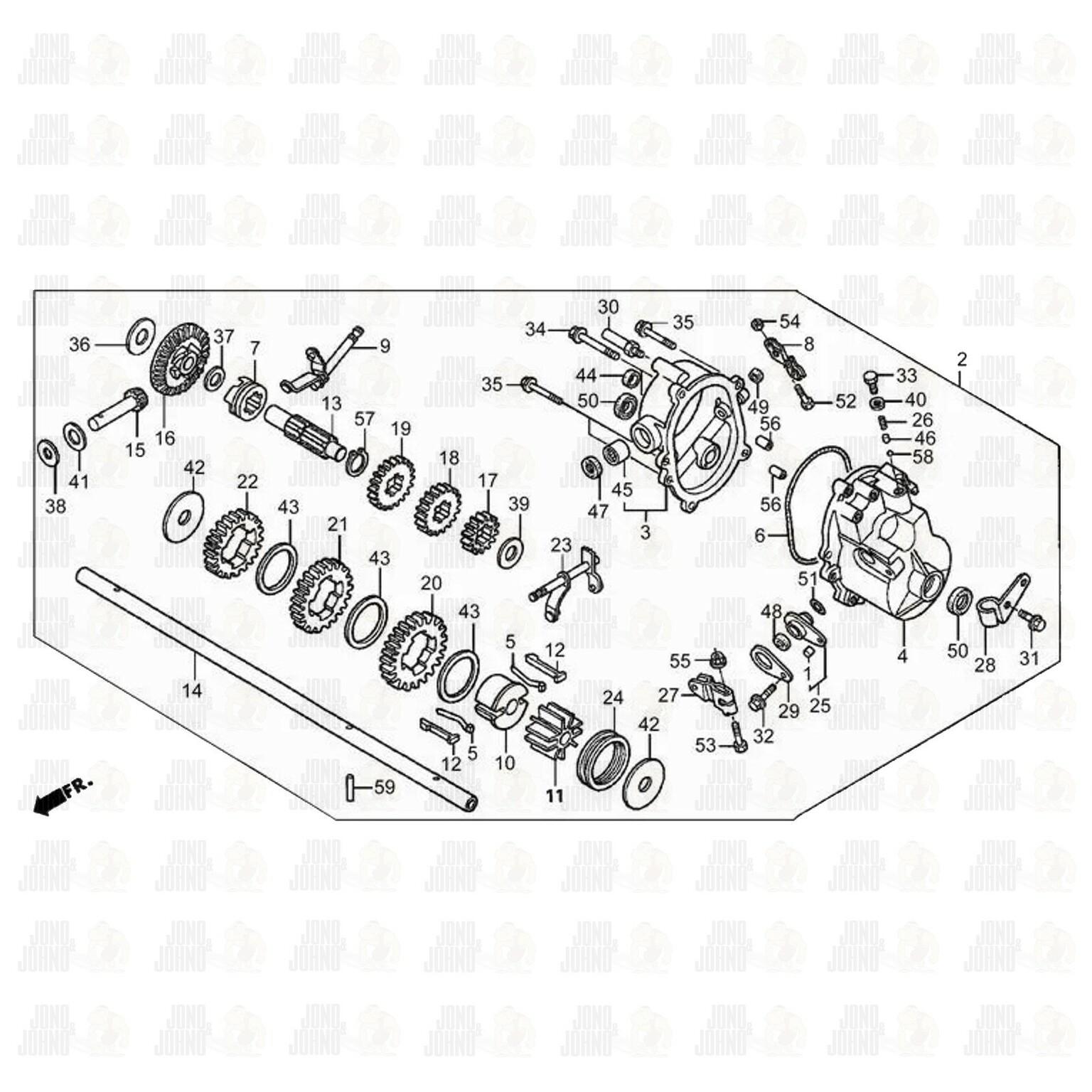 hight resolution of honda mower transmission diagram wiring diagrams wni honda mower transmission parts honda mower transmission diagram