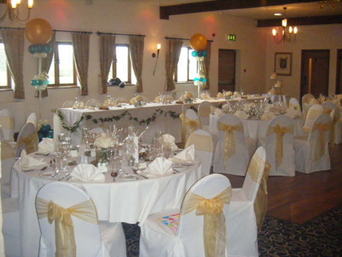 chair covers hire bolton victorian rosewood chairs linen sashes table decorations for weddings haighton manor preston