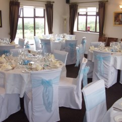 Chair Covers Hire Bolton Back India Linen Sashes Table Decorations For Weddings Houghwood Golf Club St Helens