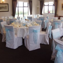 Chair Covers Hire Bolton Refurbishing Wicker Chairs Linen Sashes Table Decorations For Weddings Houghwood Golf Club St Helens