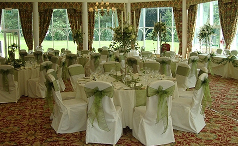 chair covers hire bolton desk seat linen sashes table decorations for weddings kilhey court hotel