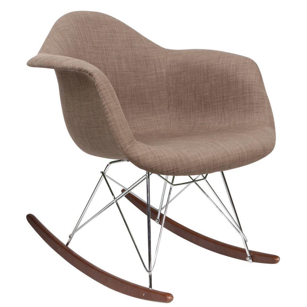 kids upholstered rocking chair office kota kinabalu eames rar