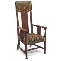 English Arts & Crafts Hall Chair - Chairblog.eu