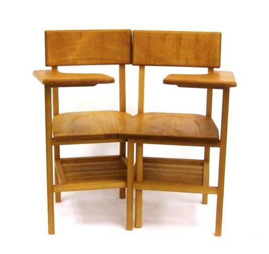 Twin Chair by Sina Sohrab