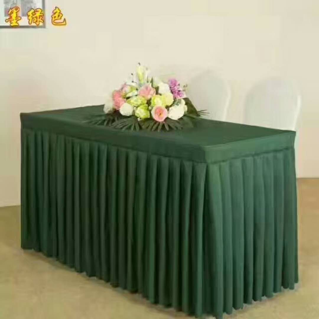 chair covers china felt protectors table skirting box pleats skirtings cover