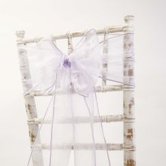 Chair Cover Depot Uk Hanging Measurements Buy Organza Sash 30cm X 250cm Lilac From