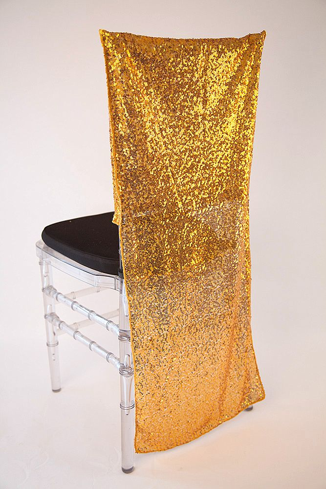 chair cover depot uk eames desk buy sequin caps full length - copper/gold from