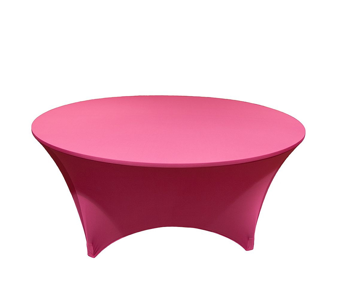 hot pink spandex chair covers 3 in 1 high chairs buy lycra 6ft round table cloths from