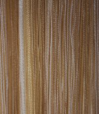 Buy Fringe Curtains - Yellow/White from Chair Cover Depot