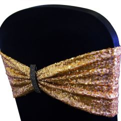 Gold Sequin Chair Covers Ebay Wing Buy Lycra Bands From Cover Depot