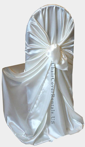 chair covers wedding costs black dining chairs set of 6 self tie universal rental
