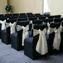 Black Chair Covers To Hire Ford Explorer With Captain Chairs Cotton Cover 4 London
