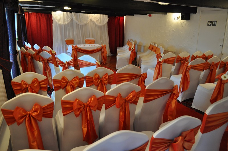 wedding chair covers pontypridd best chairs for nursery sash colours and bows llechwen hall gallery