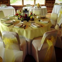 Chair Cover Rentals Alexandria Va Rocking And Ottoman Replacement Cushions Wedding Covers In Dc Md Home Lodge At Little Seneca Creek
