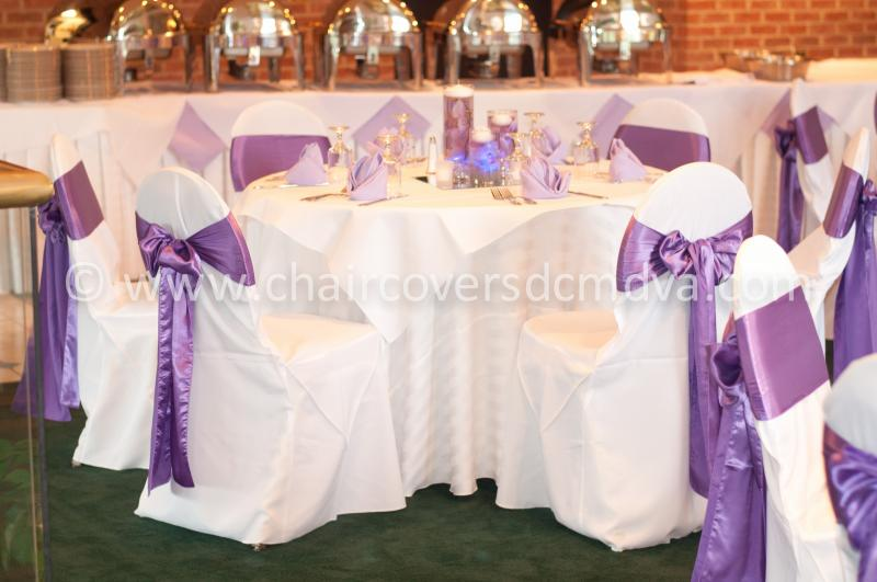 chair cover rentals alexandria va turquoise leather office wedding covers in dc md home the grand atrium vienna