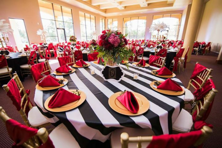 chair covers and more houston wheelchair yang bagus chairs premier event decor american wedding at the sanctuary water oaks