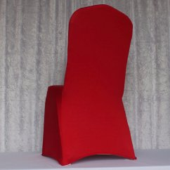 Red Spandex Chair Sashes Fatboy Bean Bag Cover Chairs Covers And More