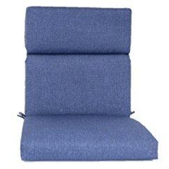Brentwood Originals Chair Pads Wooden Desk 35590 Indoor/outdoor Cushion, Carsten Indigo | Cushion Shop