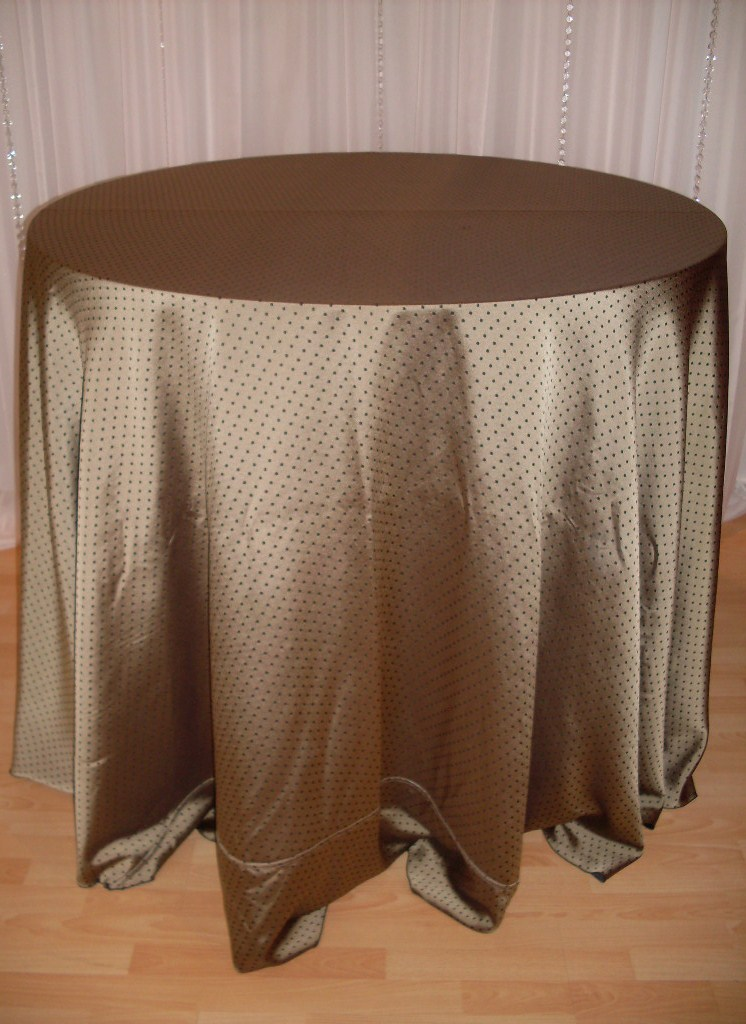 Chair Decor  Black Magic Tablecloth