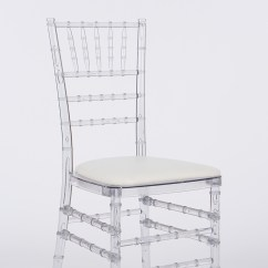 Clear Chiavari Chairs Grey Fabric With Chrome Legs Chair Decor Add To Quote
