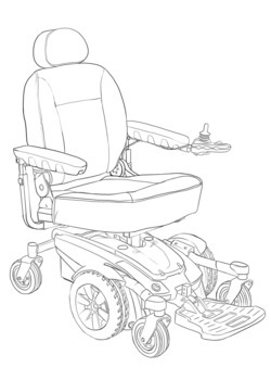 Manual or Power Chairs