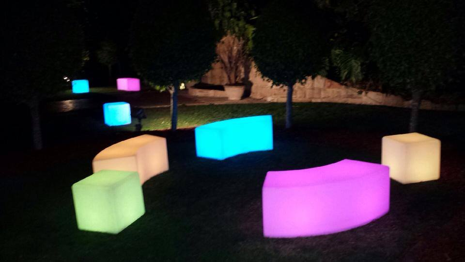 ghost bar chair recliner leather glow furniture hire sydney - affordable