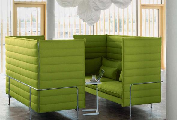 Vitra Alcove Highback Sofa 21032100